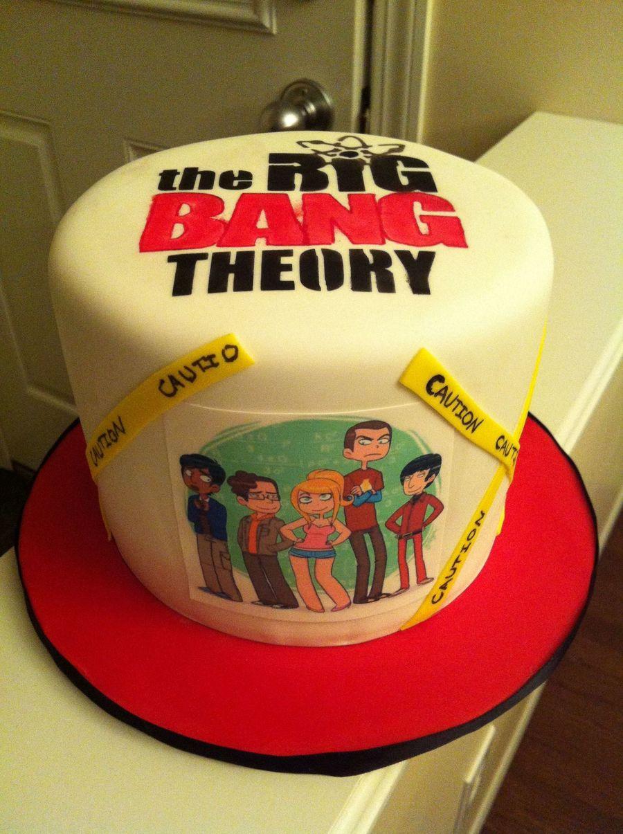 Big Bang Theory Cake  CakeCentralcom