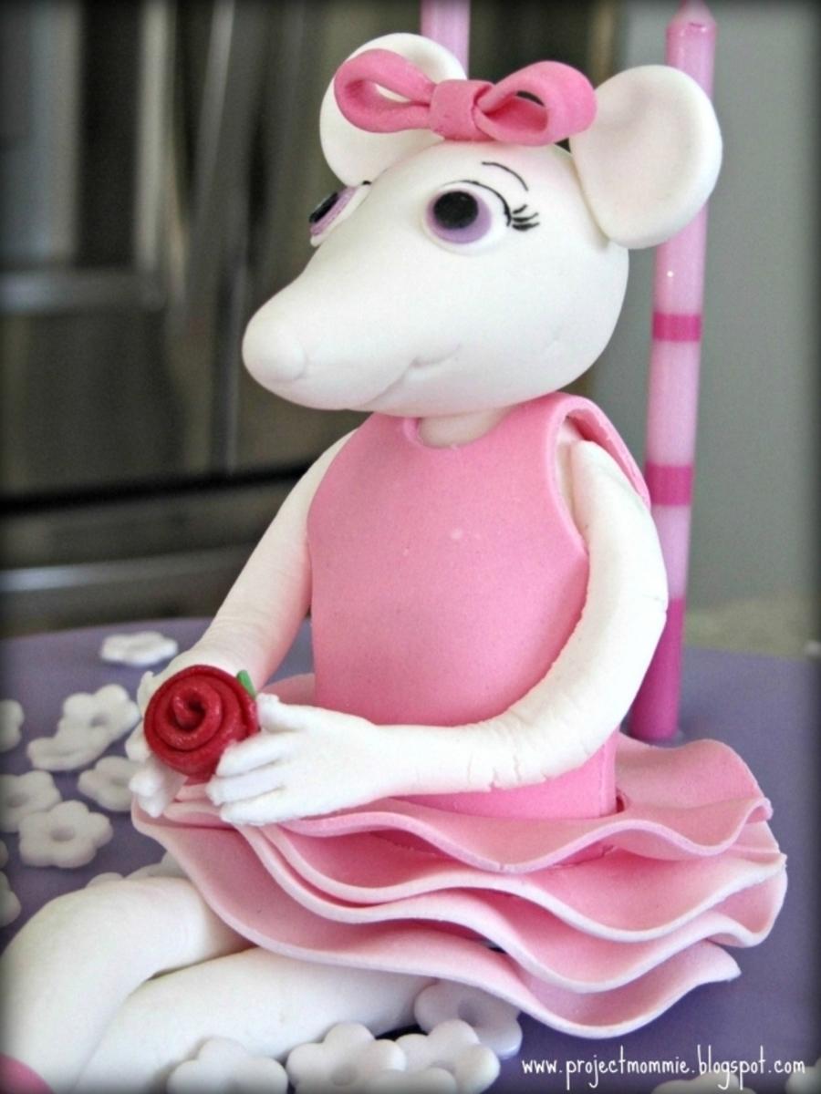 Angelina Ballerina Cake  CakeCentralcom
