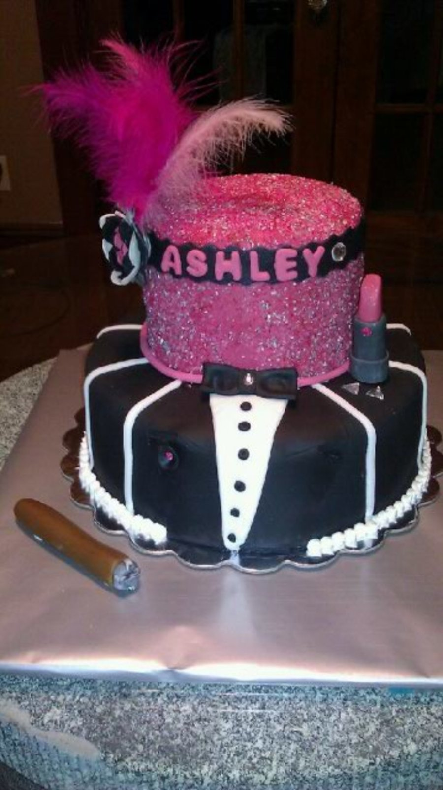 Harlem Nights Themed Cake  CakeCentralcom