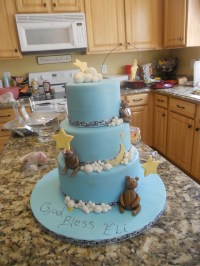 A Star Is Born Baby Shower Cake - CakeCentral.com