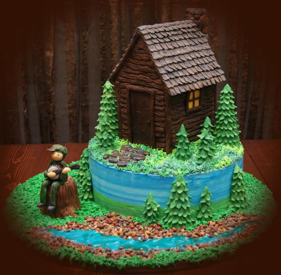 My Cabin Cake  CakeCentralcom