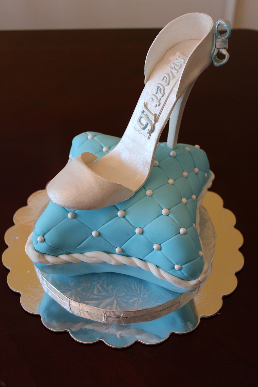 Cinderella Sweet Sixteen  CakeCentralcom
