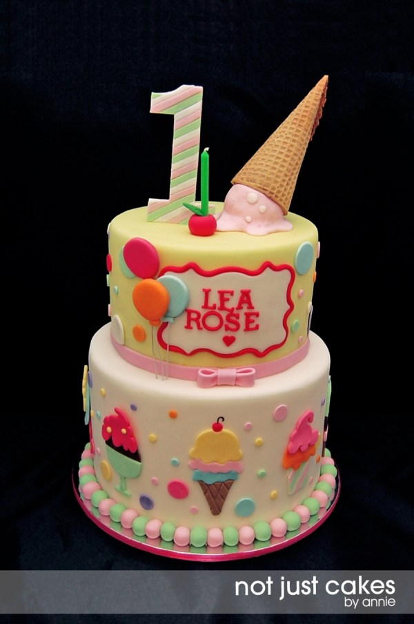 Ice Cream Birthday Cake Ideas