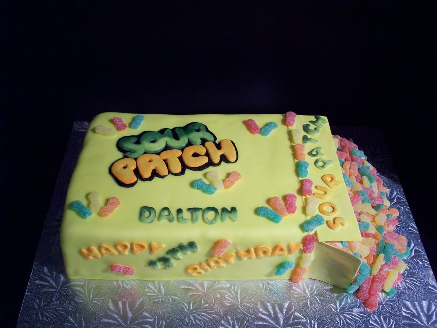 Sour Patch Kid Birthday Cake Cakecentral Com