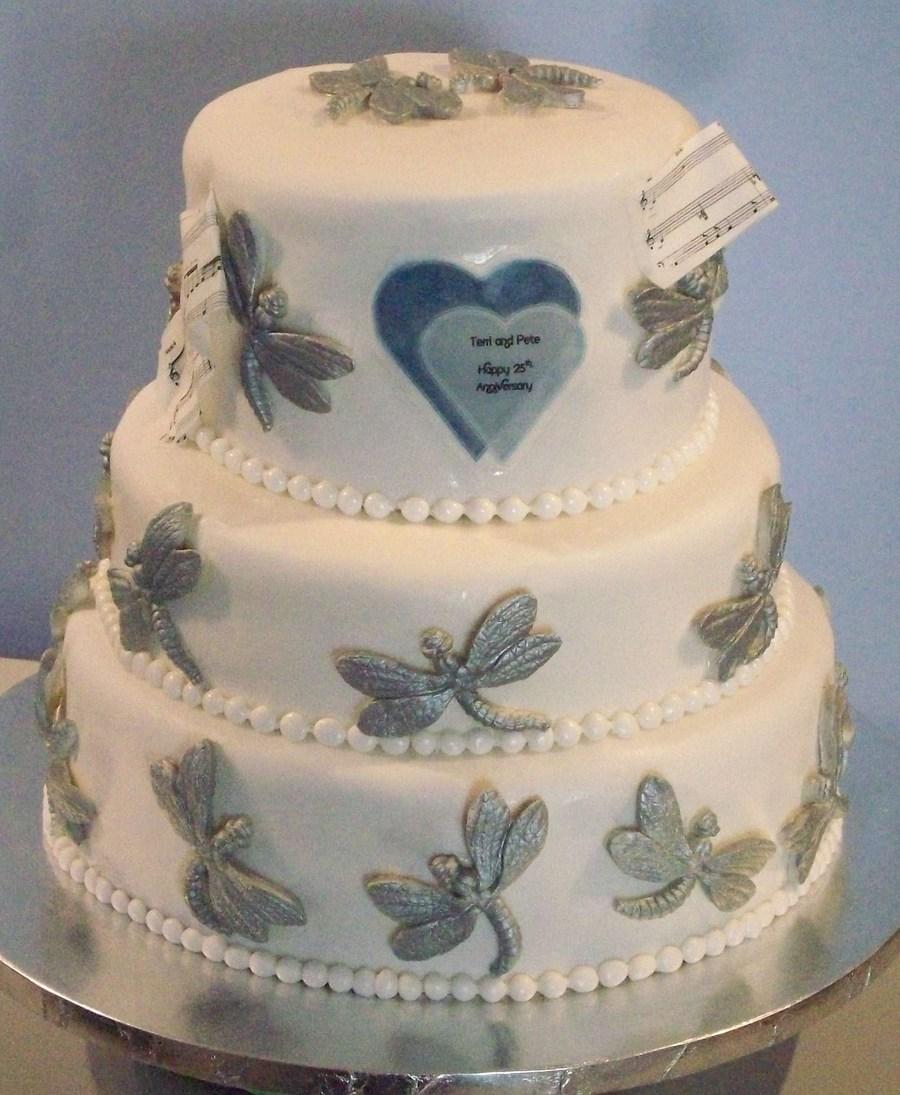 25Th Wedding Anniversary Silver Anniversary