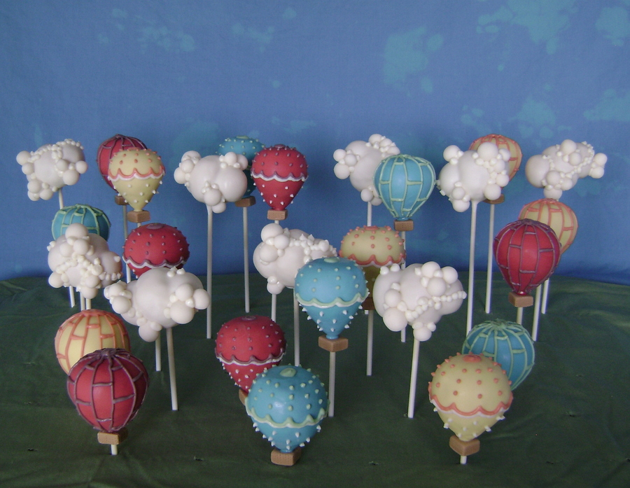 Ccic14 Balloons Clouds Pops  CakeCentralcom