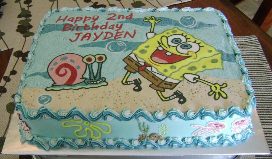 Spongebob Bday Fbct Cakecentral Com
