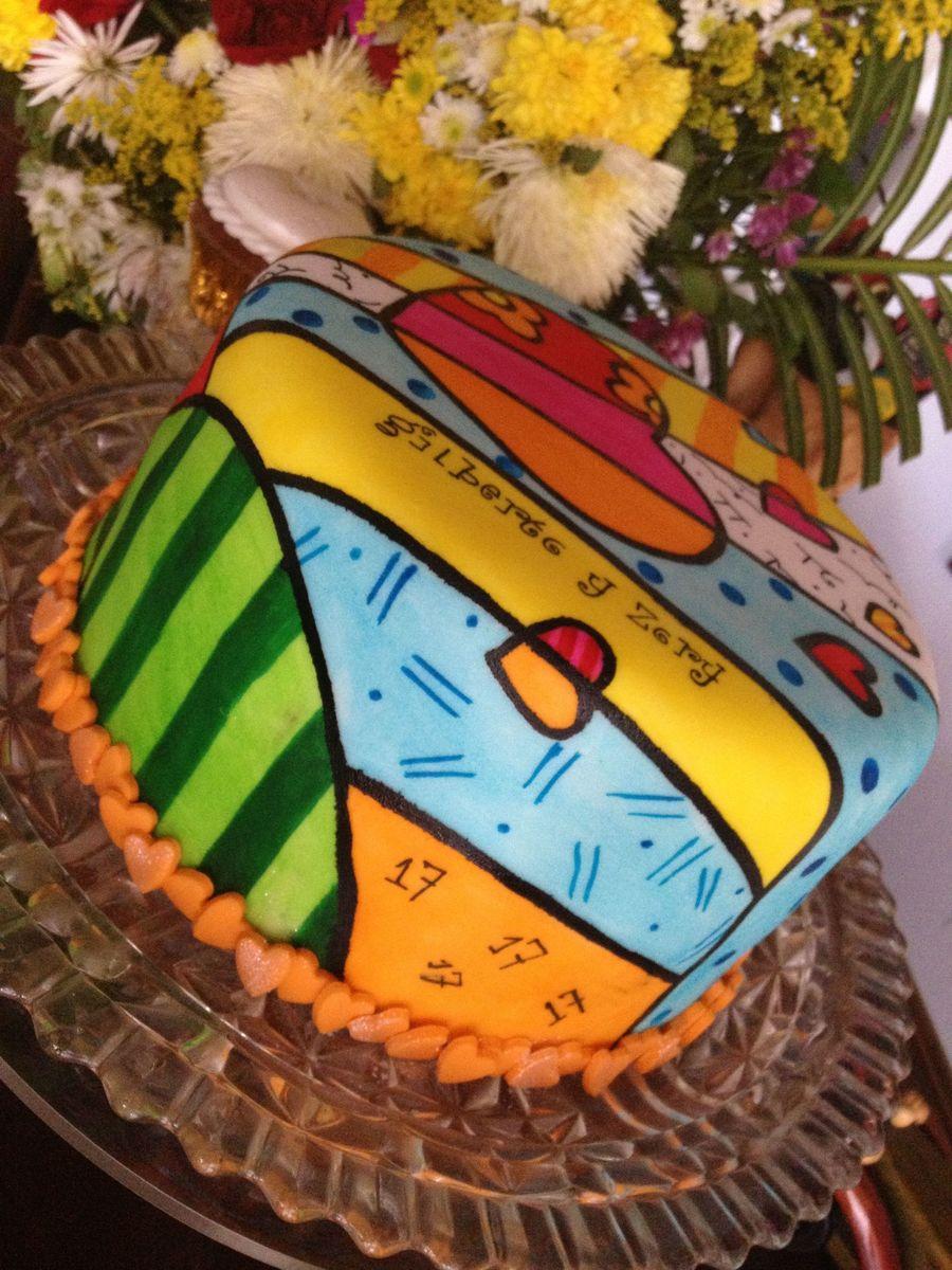 Happy 17th Anniversary Gilberto Amp Zory Cakecentral Com