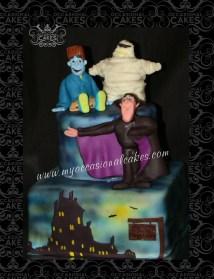 Hotel Transylvania Tm Inspired Cake