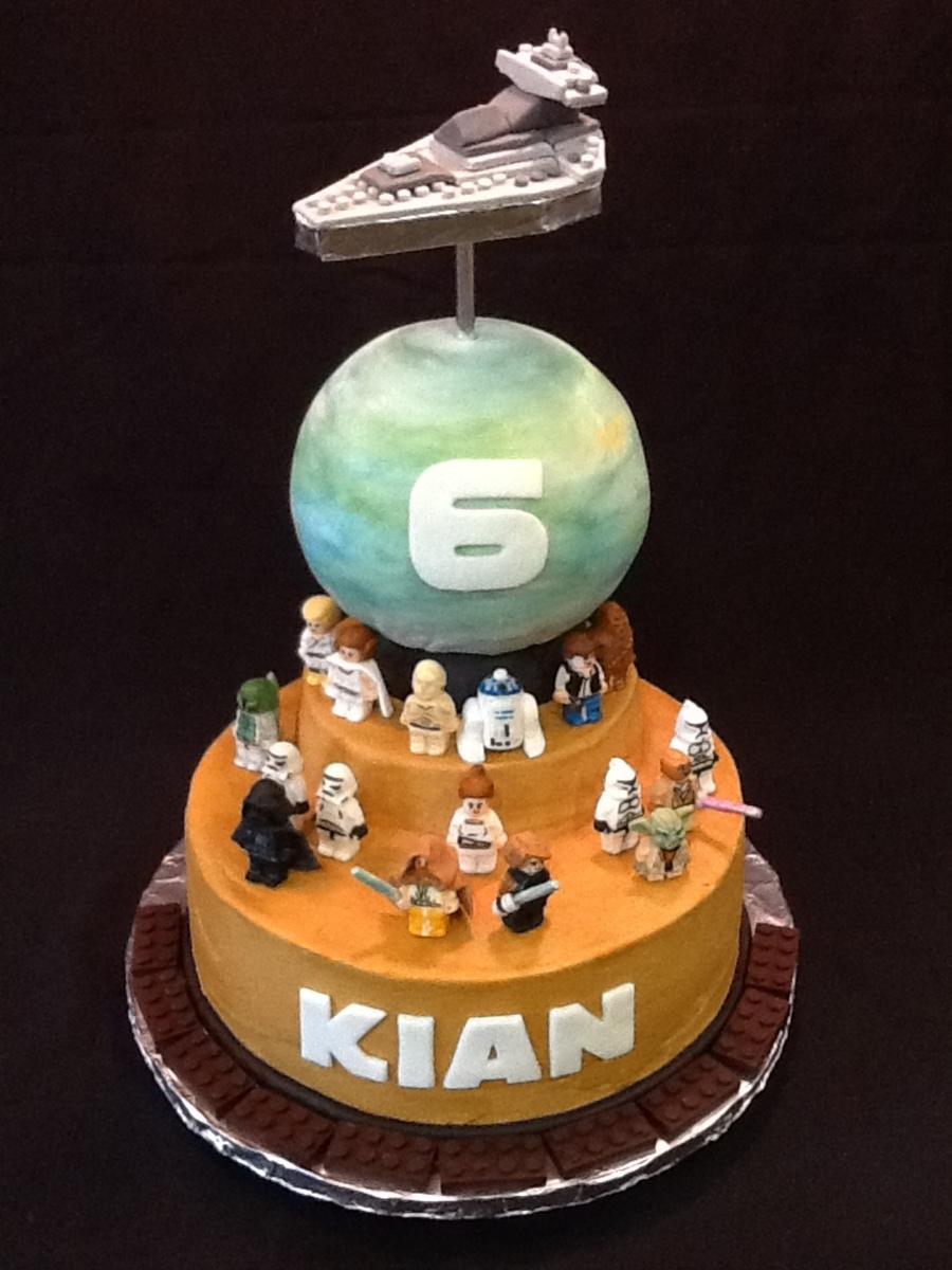 Star Wars Lego Birthday Cake Cakecentral Com