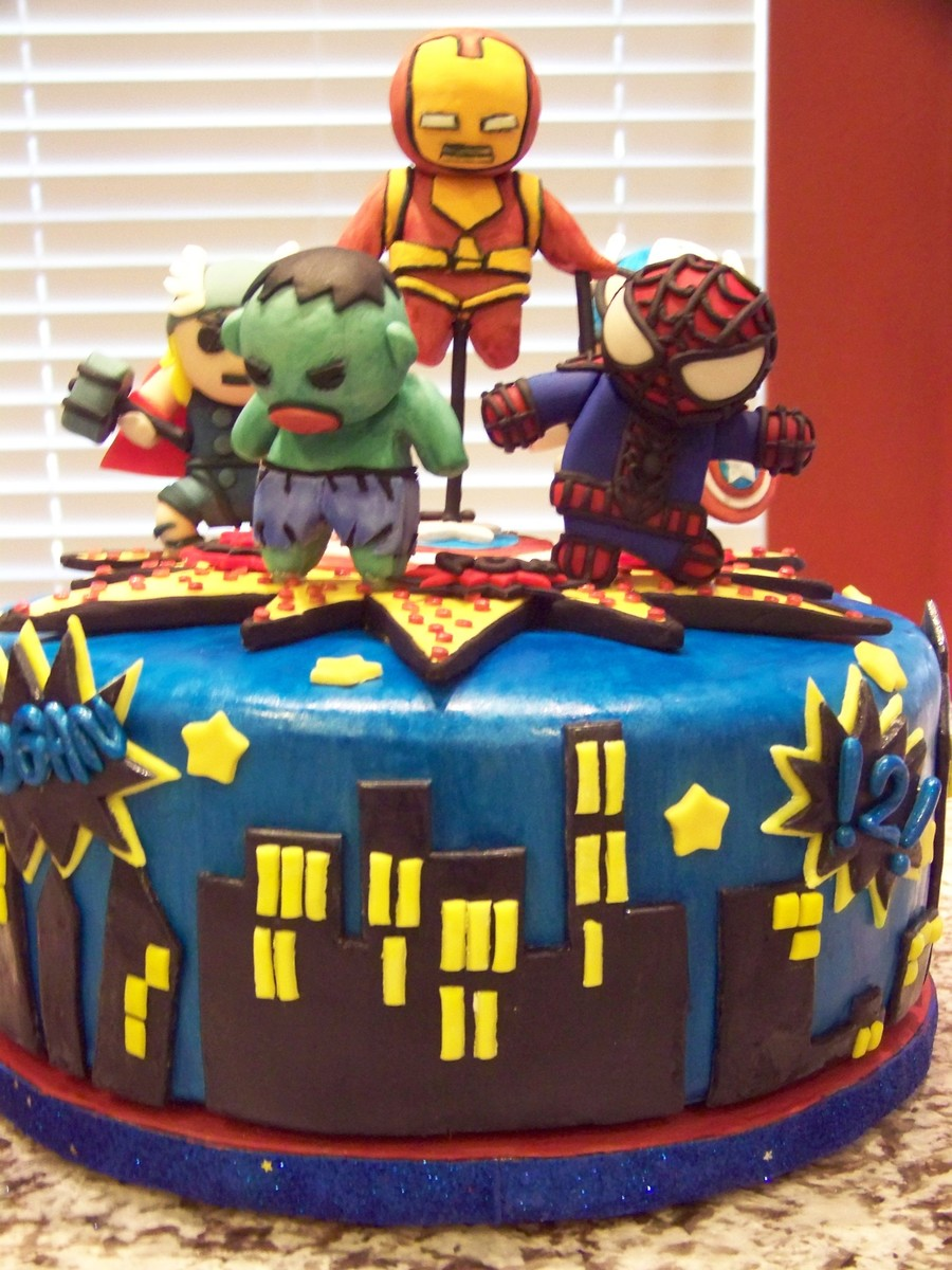 Little Marvel Avengers For 2 Yr Olds Birthday