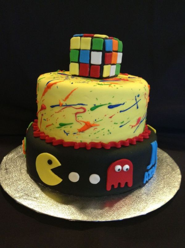 Party Decorations 80s Cake