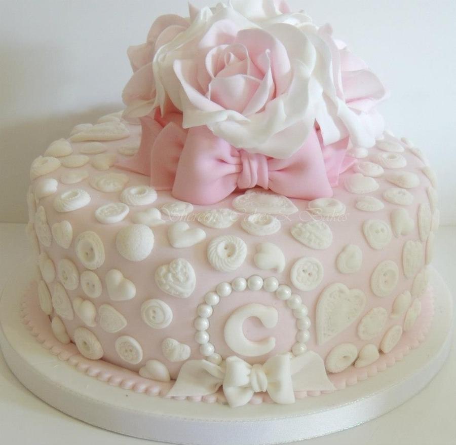 Pretty Birthday Cake Cakecentralcom