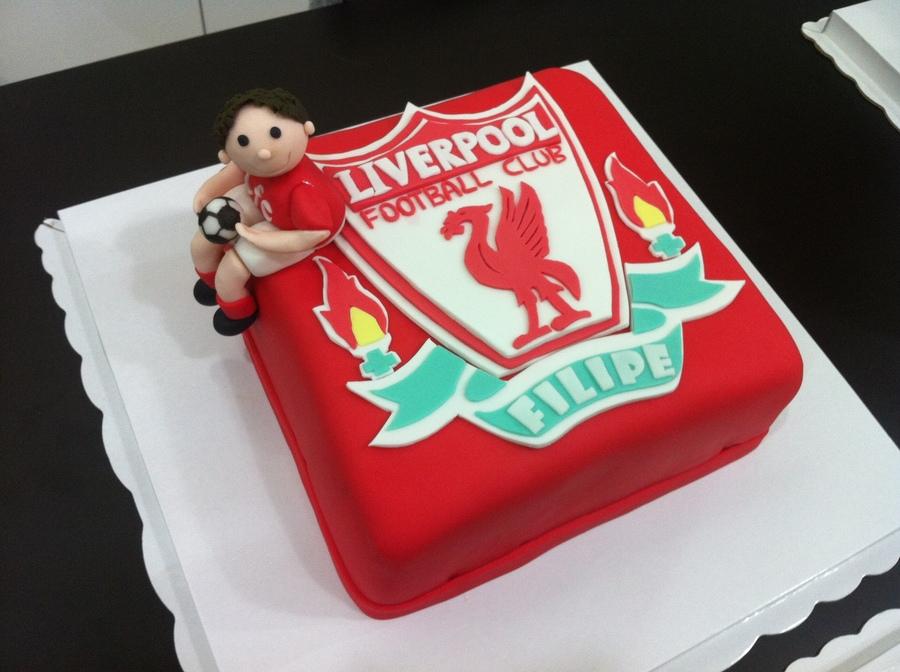 Liverpool Birthday Cake  Cakecentralcom