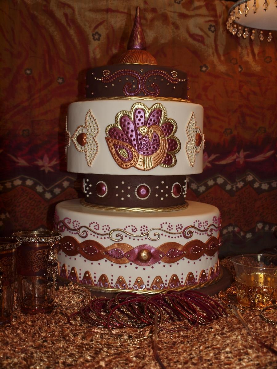 My Mehndi Cake Design