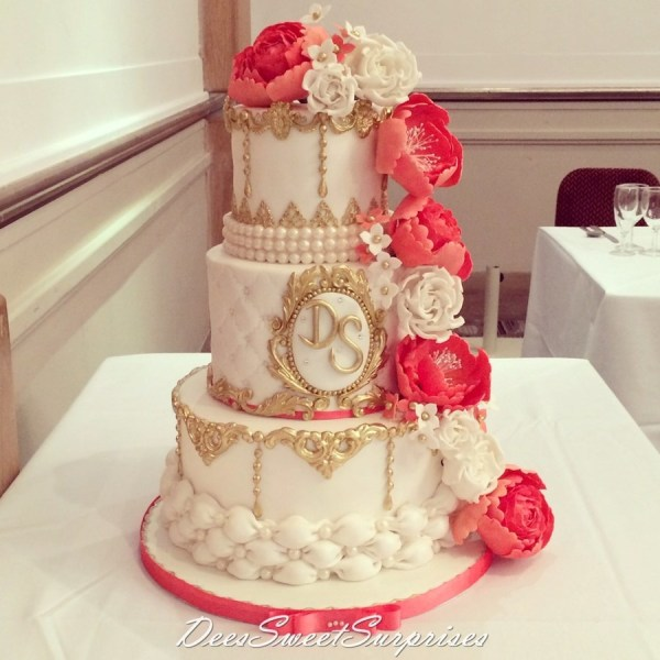 20 Coral Ivory And Gold Wedding Theme Pictures And Ideas On Meta