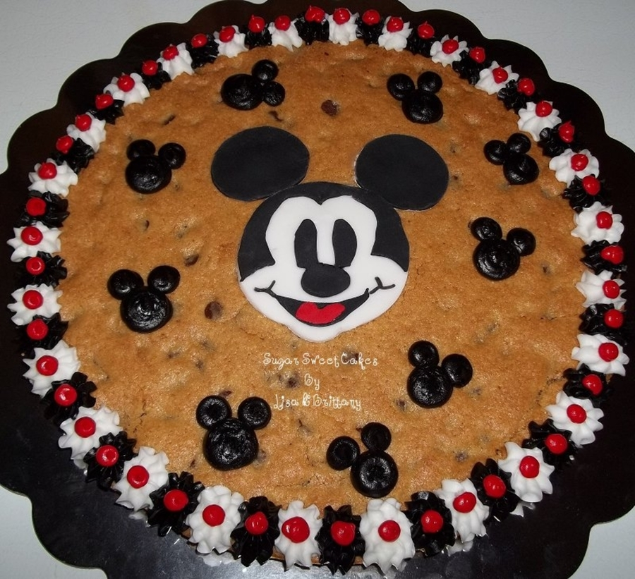 Mickey Mouse Cookie Cake Cakecentral Com
