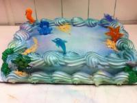 Sea Animal Cake - CakeCentral.com