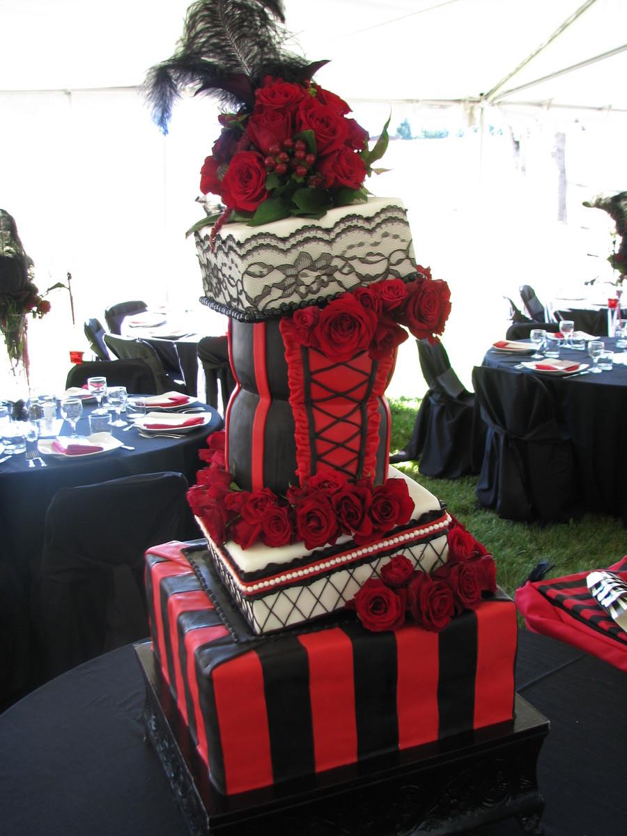 Moulin Rouge Wedding Cake  CakeCentralcom