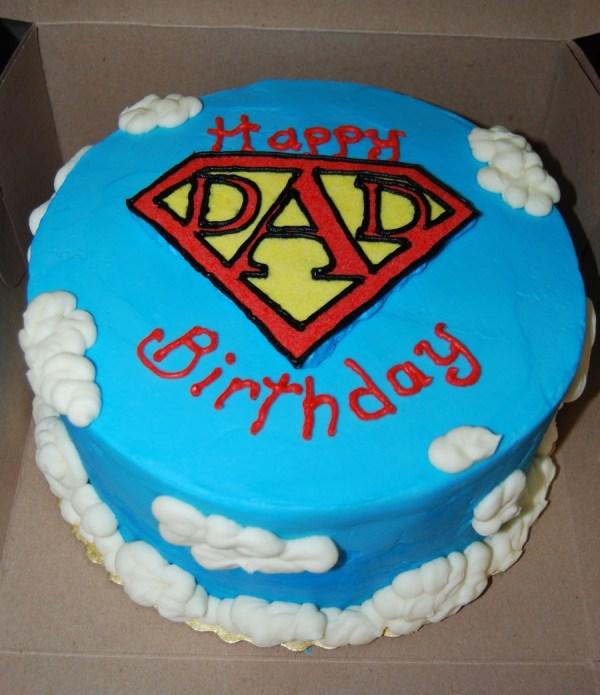 Happy Birthday Cake Dad Cakes Vtwctr