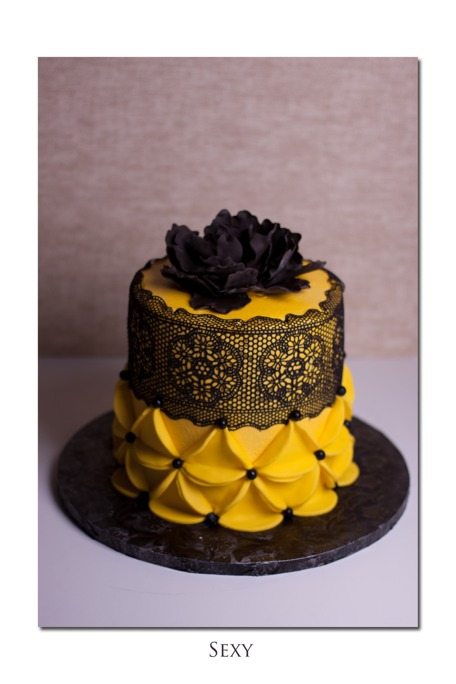 Black And Yellow Was All The Instruction The Client Gave