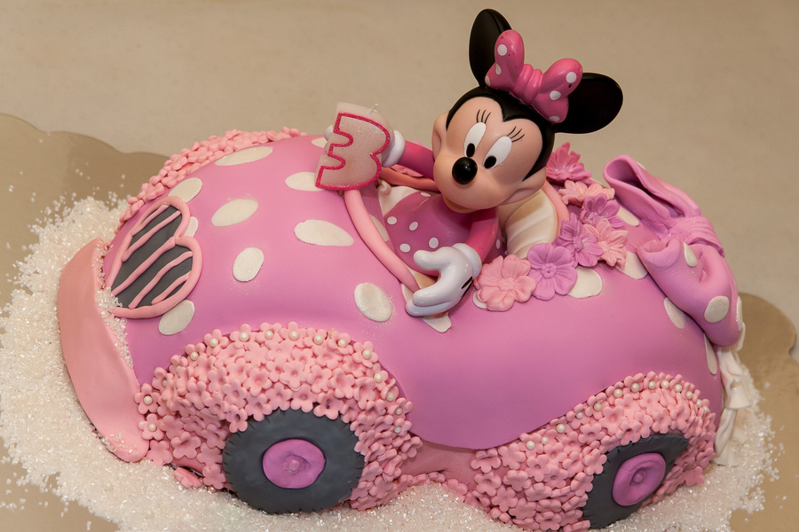 Minnie Mouse Birthday Cake Cakecentralcom