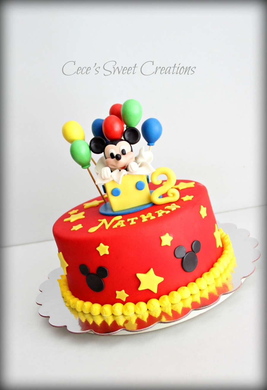 Mickey Mouse Birthday Cake Cakecentral Com