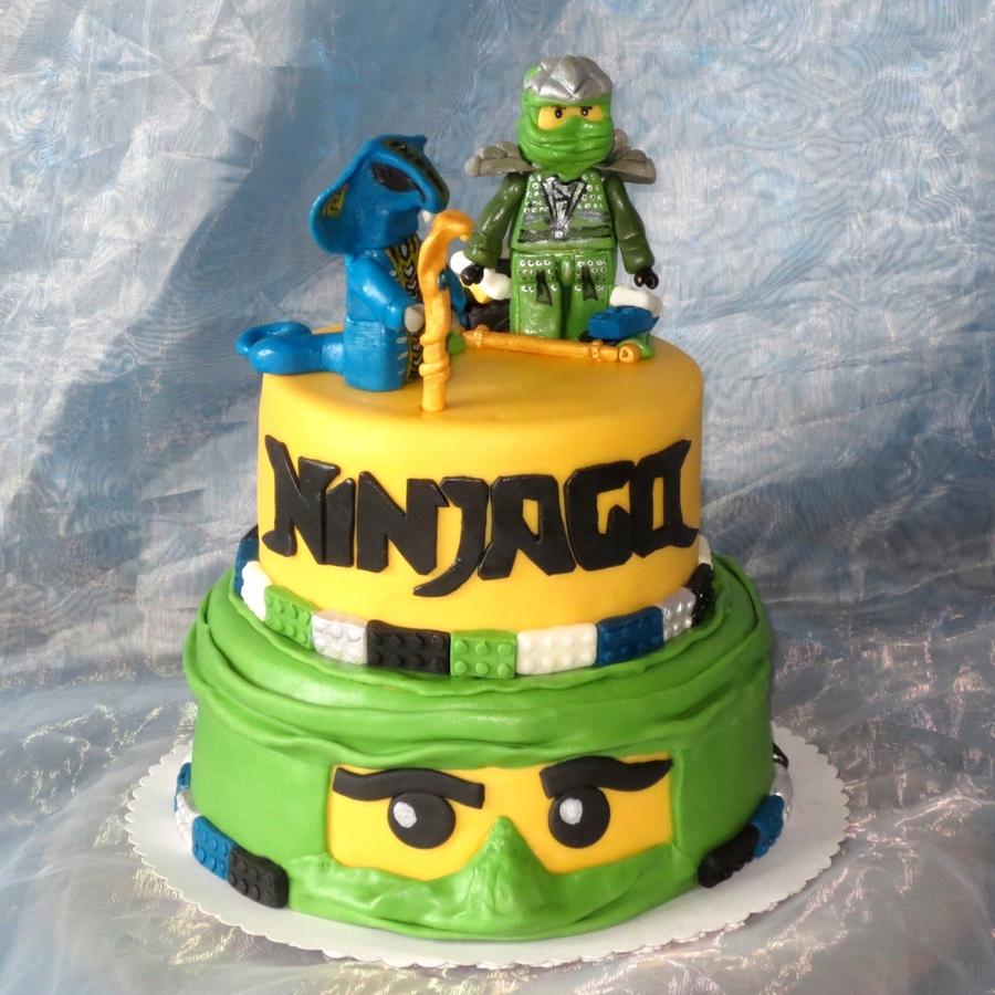 Lego Ninjago Jay Vs Fangdam  CakeCentralcom