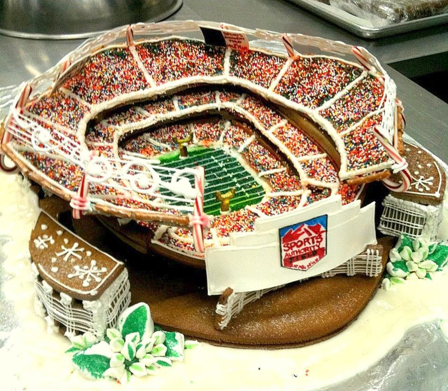 Sports Authority Field At Mile High  CakeCentralcom
