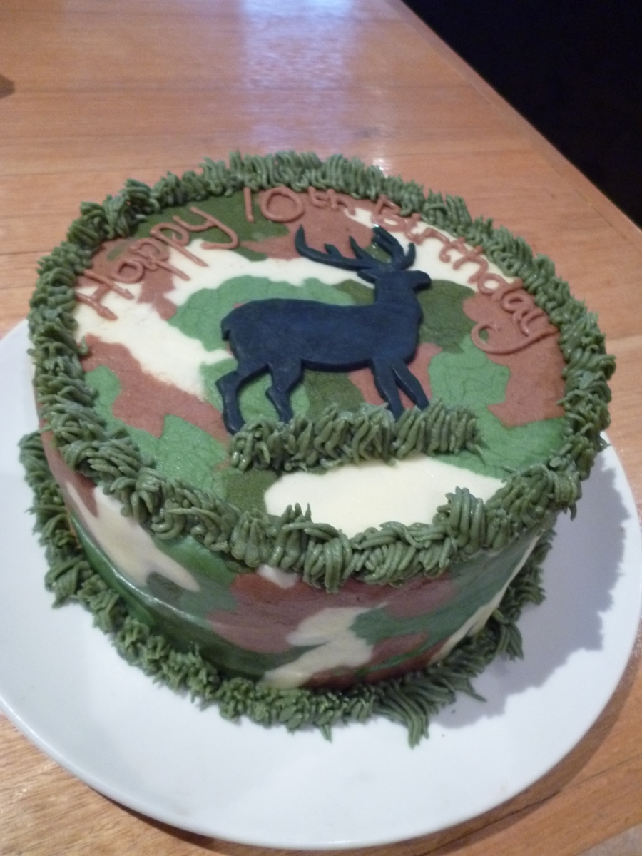 deer birthday cake cakecentral