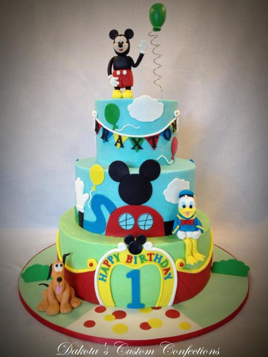 My First Icing Smiles Cake Mickey Mouse Clubhouse