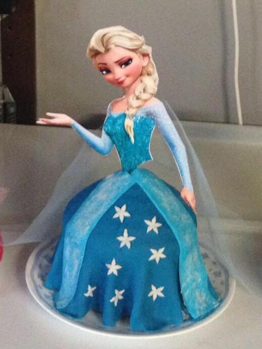 Disney Frozen Princess Elsa Cake Cakecentral Com