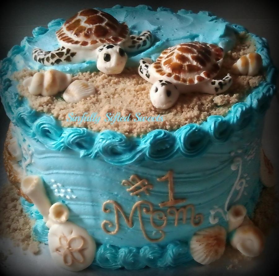 Sea Turtle Cake Cakecentral Com