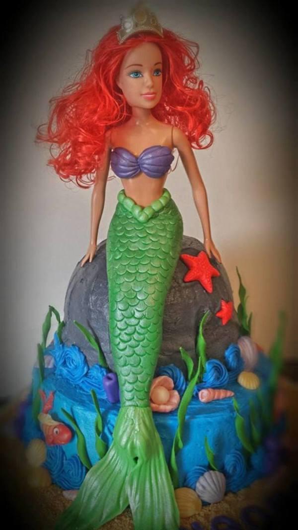 Ariel Little Mermaid No Bra