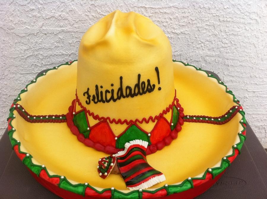 Sombrero  Baby  CakeCentralcom