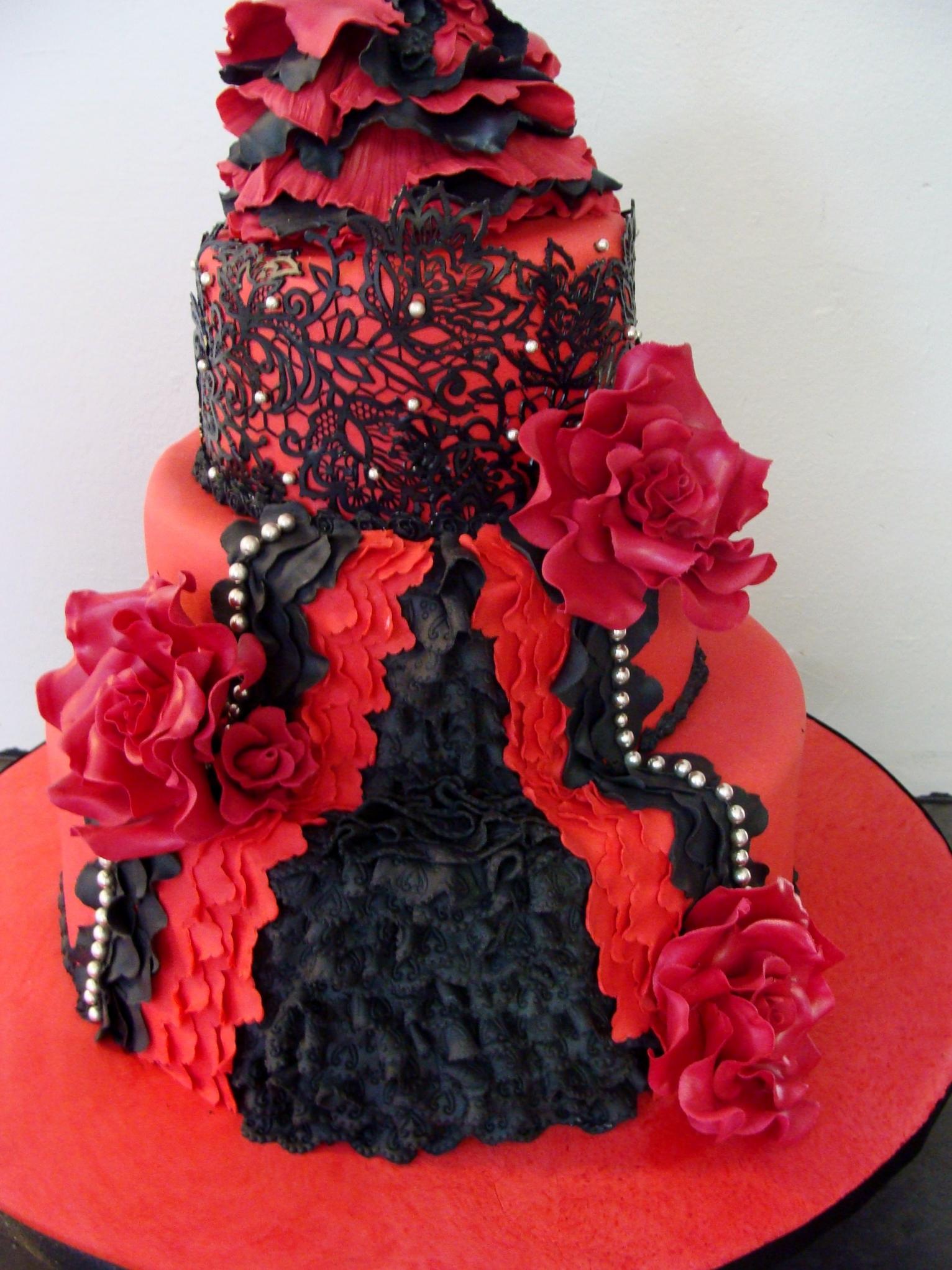 Spanish Dancer Cake Cakecentral Com