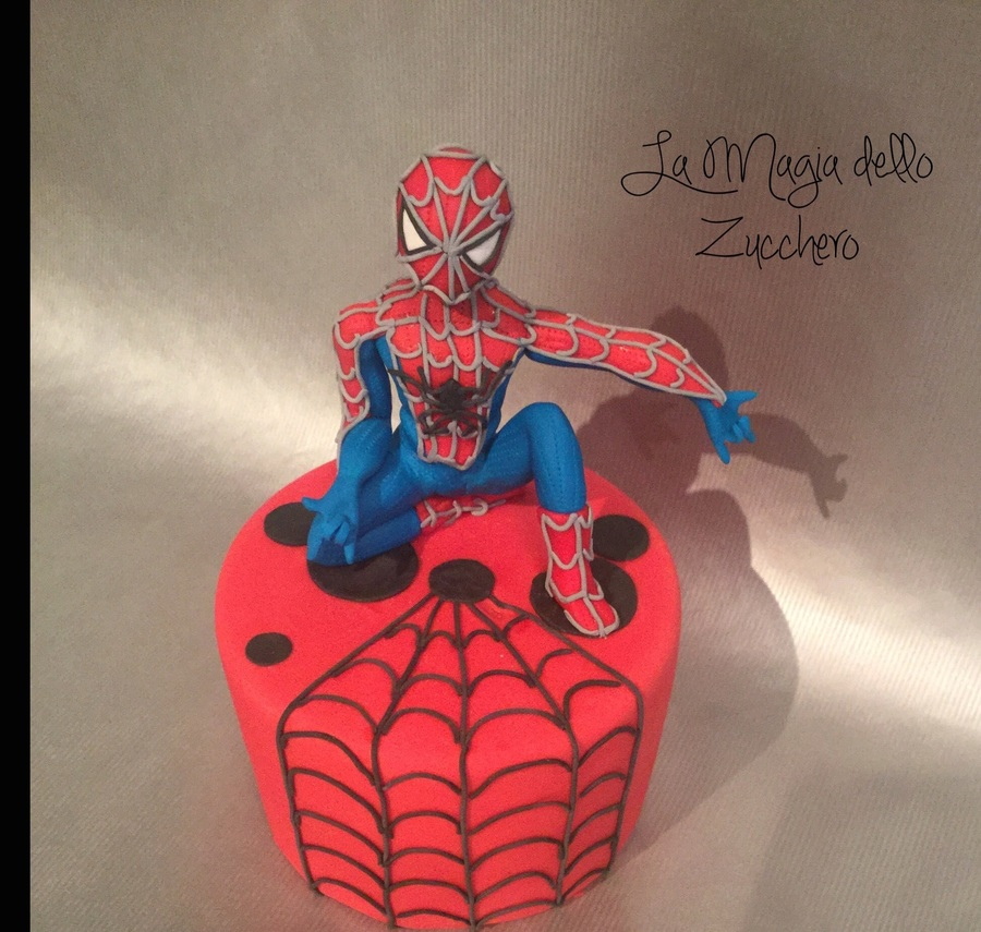 Spiderman Cake Topper Cakecentralcom
