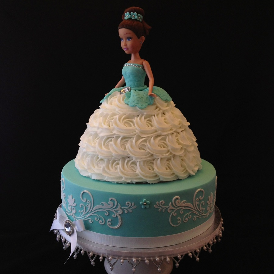 Two Tier Doll Cake Cakecentral Com