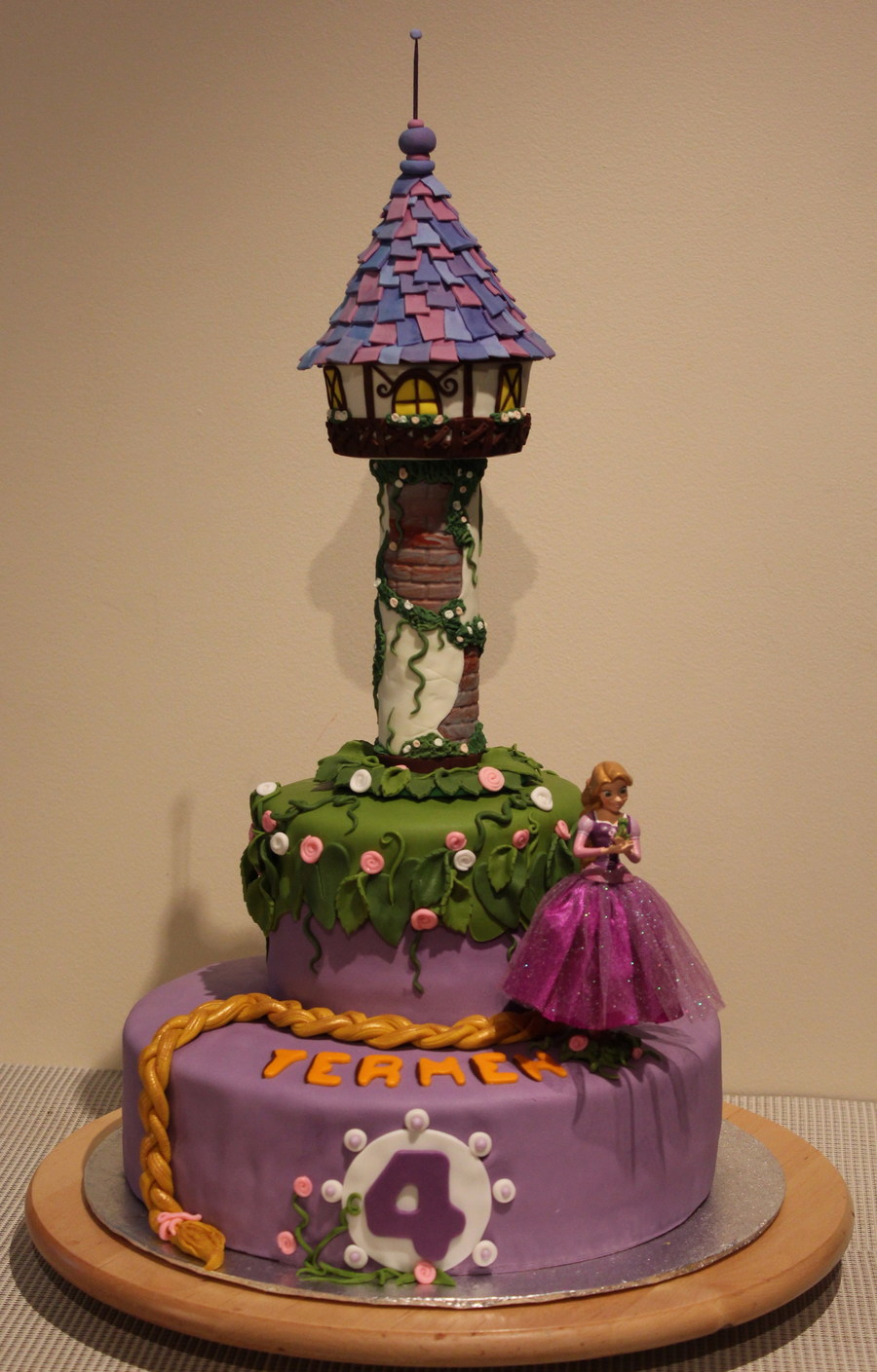 Rapunzel Cake Cakecentral Com