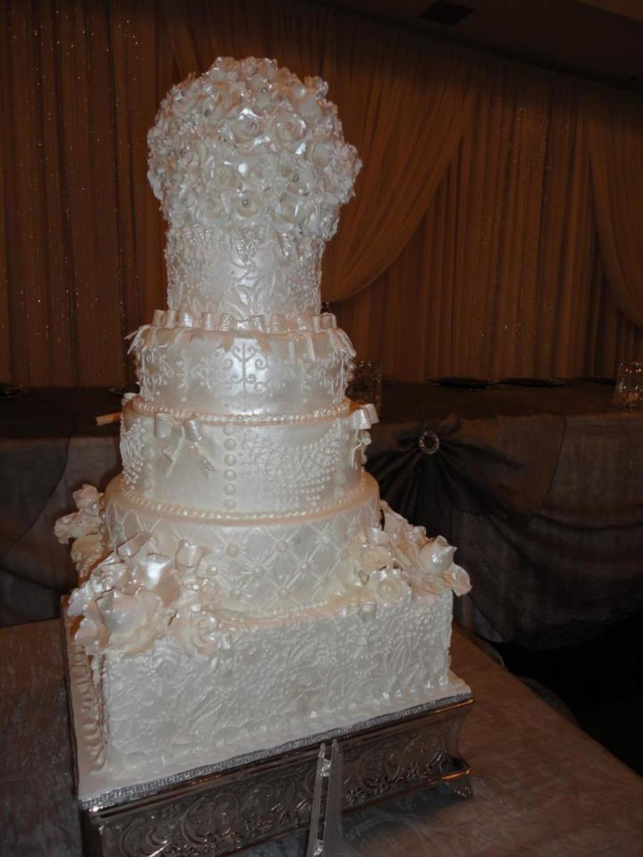 Royal Wedding Cake  CakeCentralcom