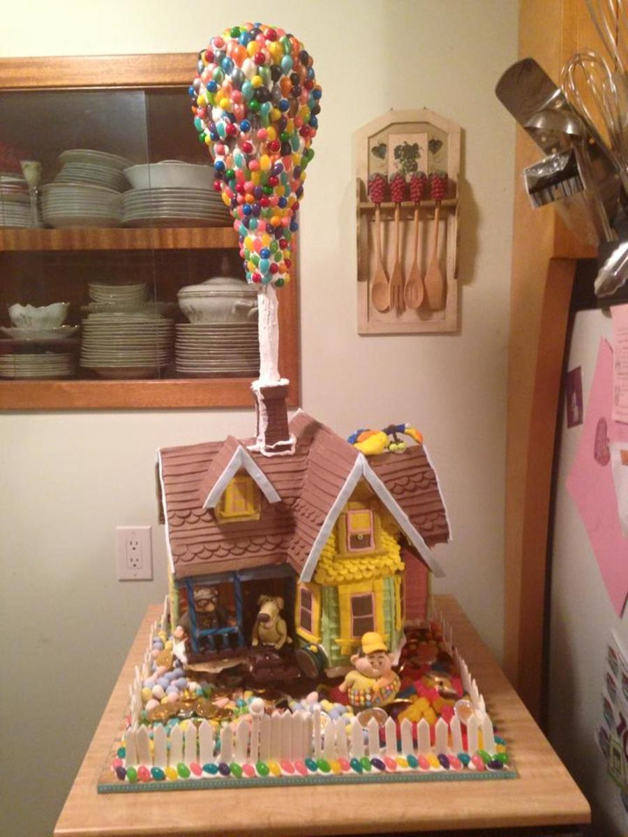 up Gingerbread House  CakeCentralcom