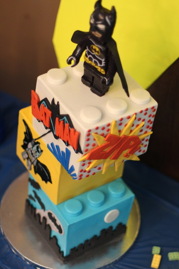 LEGO Batman Birthday Cake Ideas