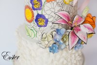 The Easter Bonnet- Easter Coloring Book Cake Collaboration ...
