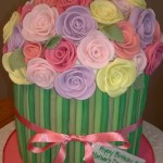 Bouquet Of Flowers Cake Cakecentral Com
