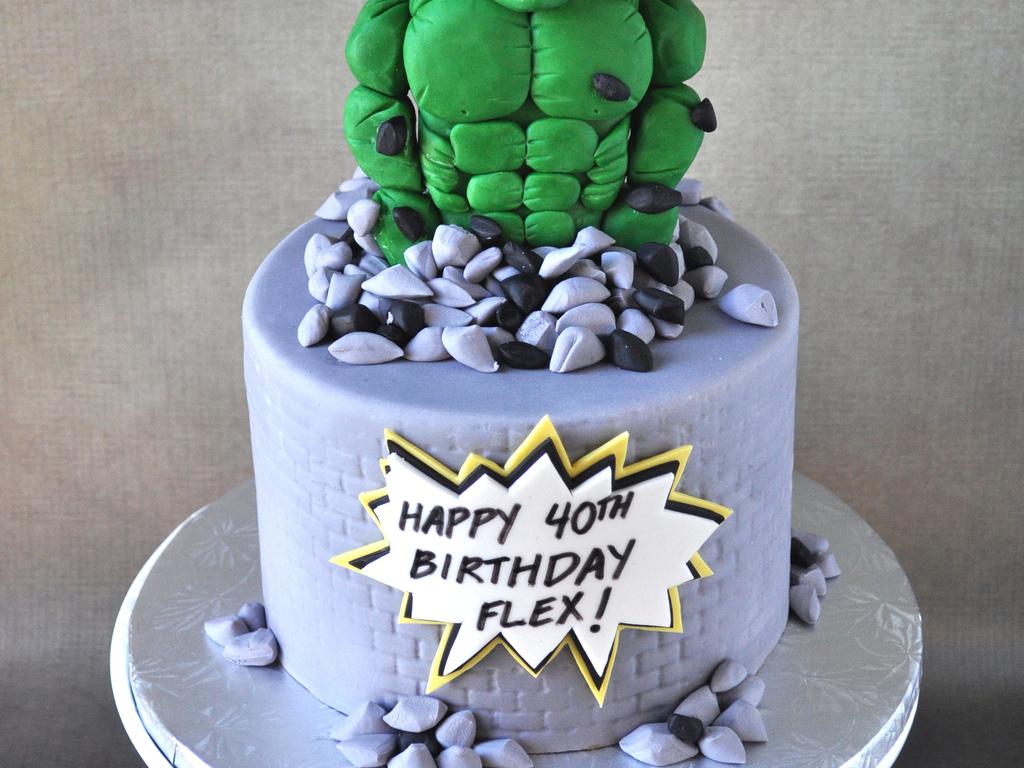 Hulk Birthday Cake The Best Cake Of 2018