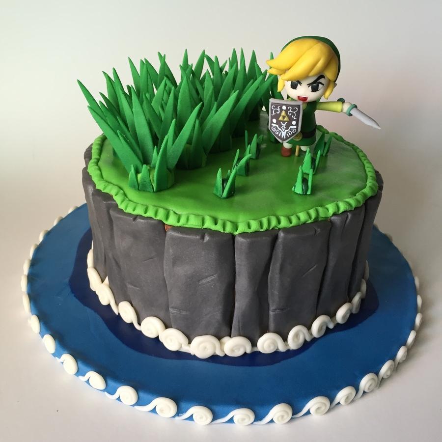 Zelda Wind Waker Cake Cakecentral Com