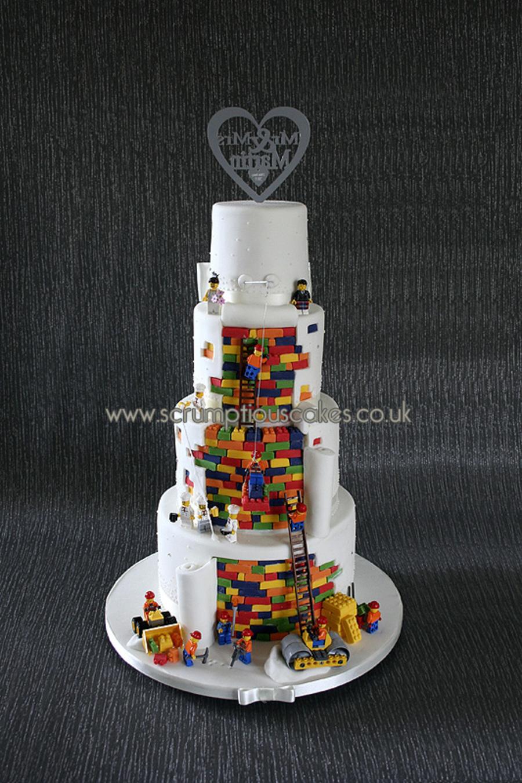 Lego Wedding Cake  CakeCentralcom