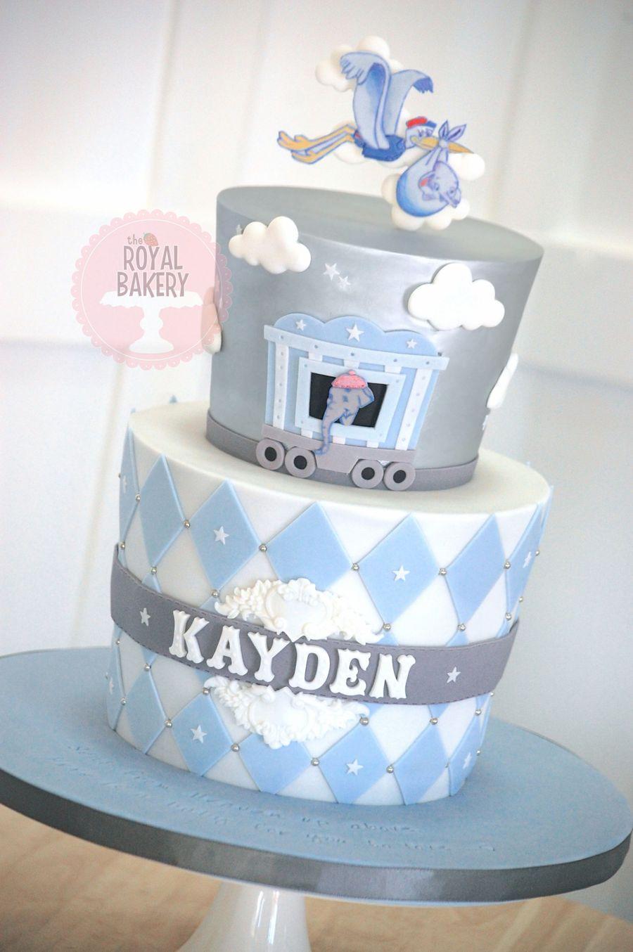 Baby Mine Dumbo Baby Shower Cake