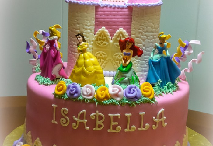 Castle Cake Decorating Photos