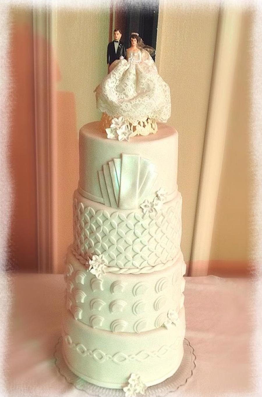 Art Deco Wedding Cake Cakecentral Com